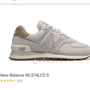 Never used New Balance 574 size 7